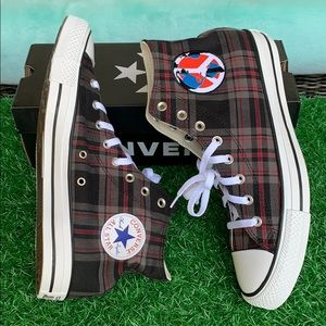 CONVERSE CTAS HI BROWN/WHITE/BLACK MEN'S